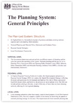 The Planning System - General Principles